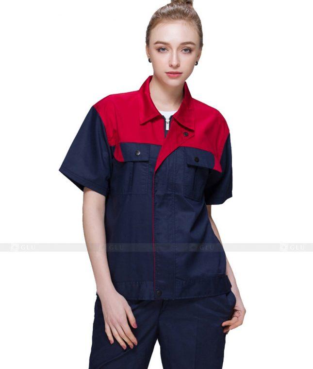 Dong phuc cong nhan GLU CN934 mẫu đồng phục công nhân