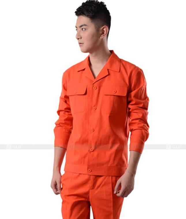 Dong phuc cong nhan GLU CN935 mẫu đồng phục công nhân