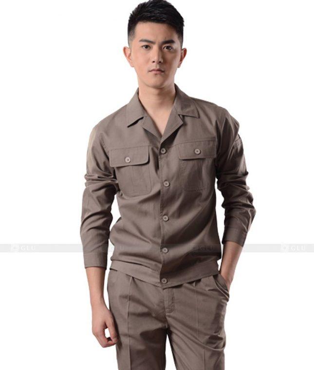Dong phuc cong nhan GLU CN936 mẫu đồng phục công nhân