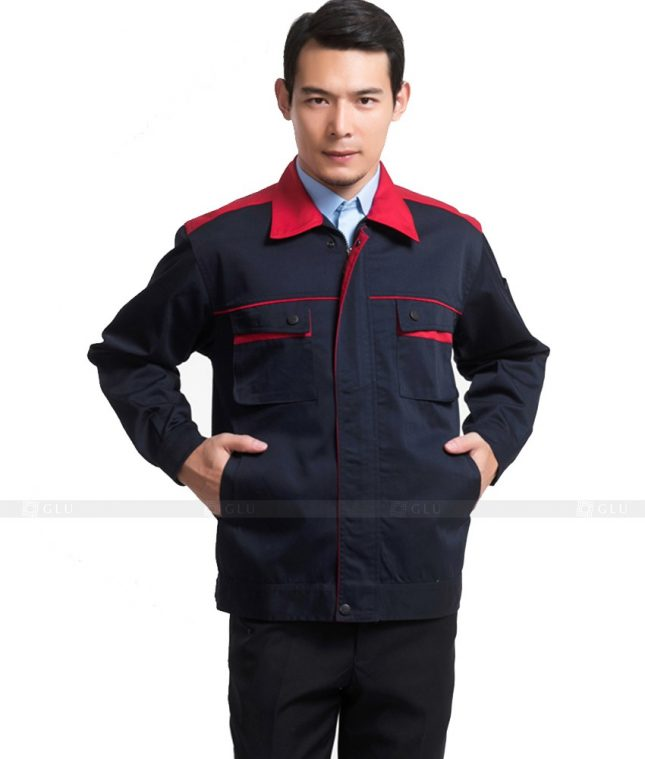 Dong phuc cong nhan GLU CN937 mẫu đồng phục công nhân
