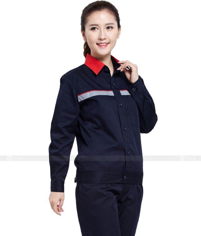 Dong phuc cong nhan GLU CN939 mẫu đồng phục công nhân