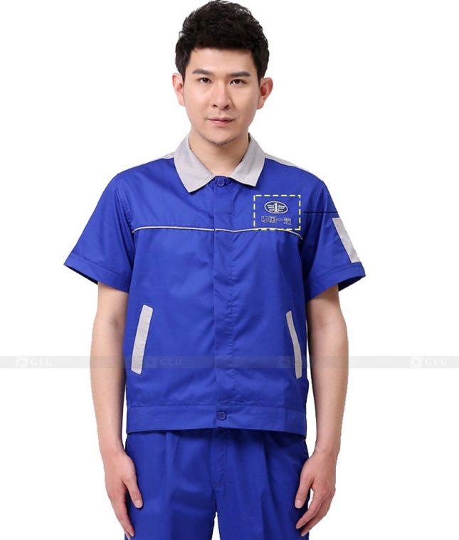 Dong phuc cong nhan GLU CN941 mẫu đồng phục công nhân