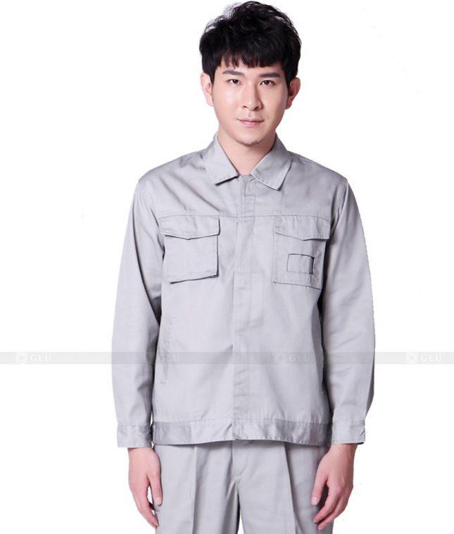 Dong phuc cong nhan GLU CN944 mẫu đồng phục công nhân