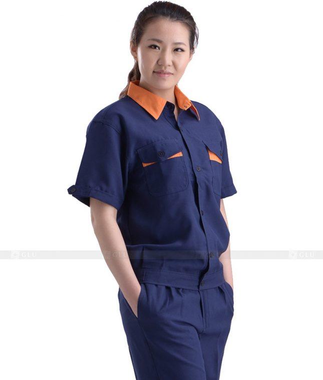 Dong phuc cong nhan GLU CN945 mẫu đồng phục công nhân