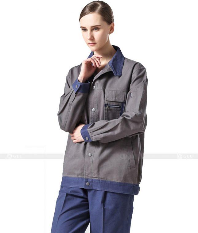 Dong phuc cong nhan GLU CN949 mẫu đồng phục công nhân