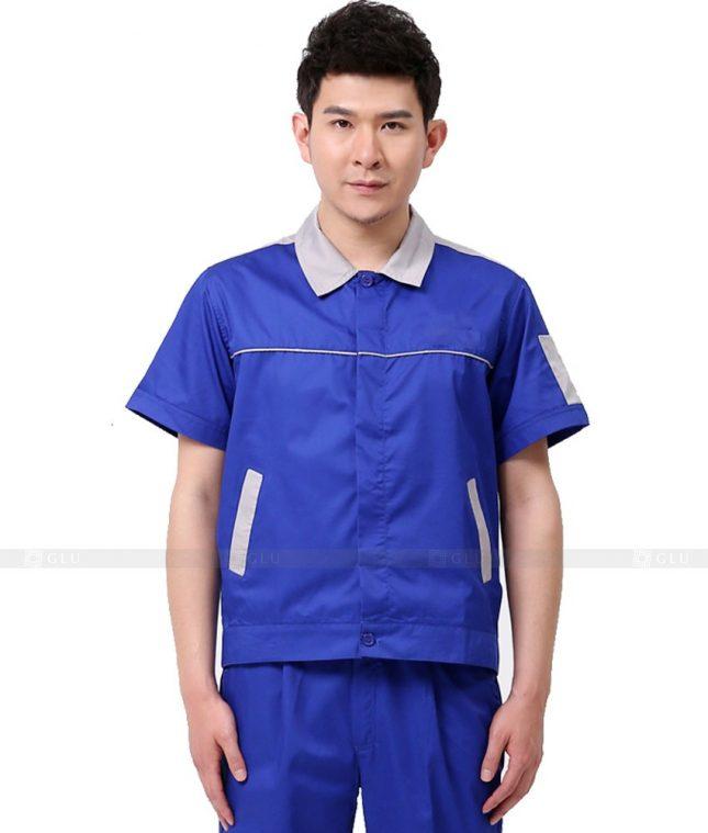 Dong phuc cong nhan GLU CN953 đồng phục công nhân kĩ thuật