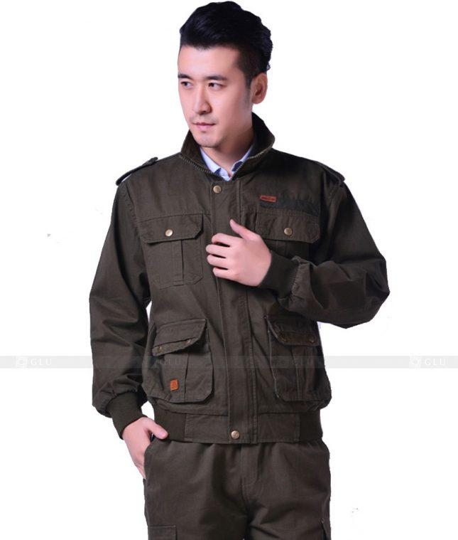 Dong phuc cong nhan GLU CN962 đồng phục công nhân kĩ thuật