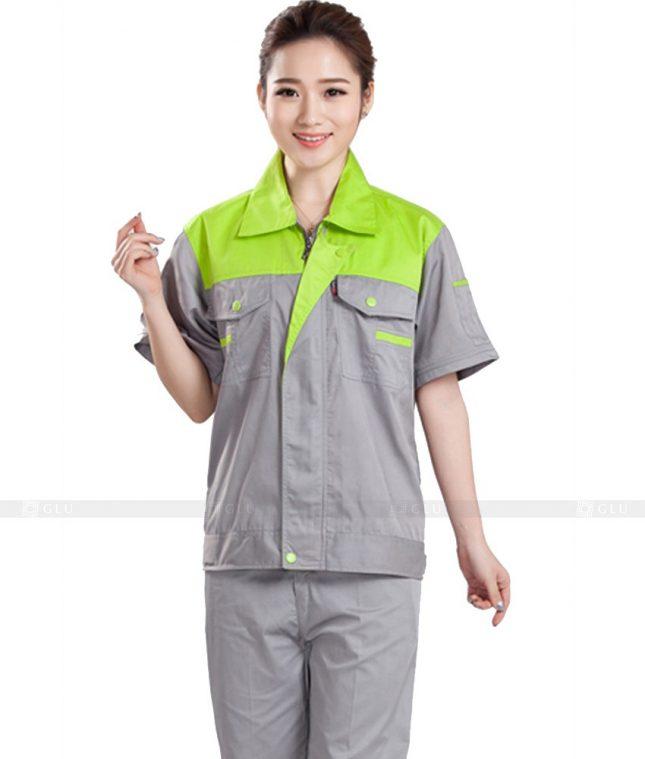 Dong phuc cong nhan GLU CN970 đồng phục công nhân kĩ thuật