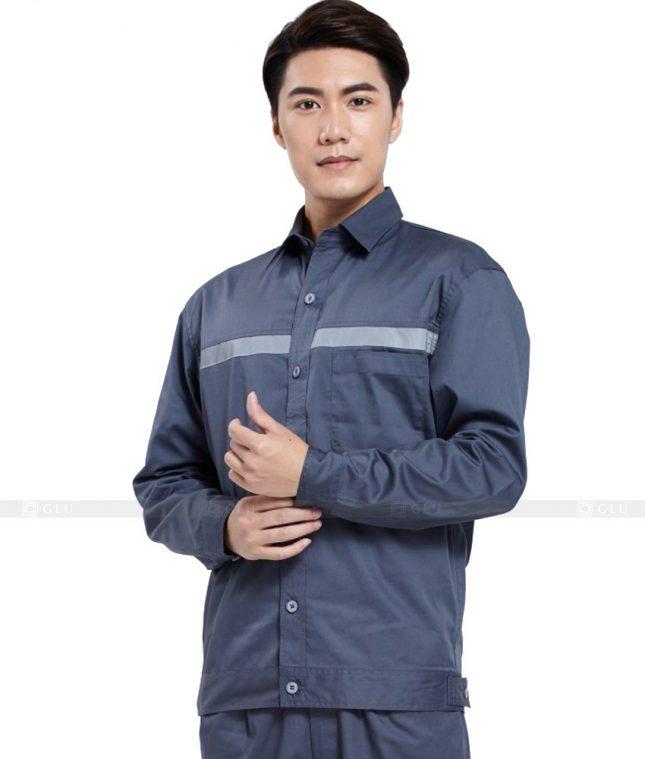 Dong phuc cong nhan GLU CN971 đồng phục công nhân kĩ thuật
