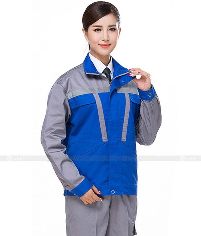 Dong phuc cong nhan GLU CN972 đồng phục công nhân kĩ thuật