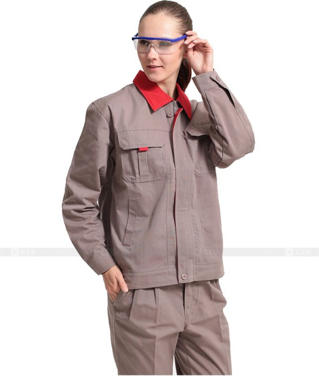Dong phuc cong nhan GLU CN973 đồng phục công nhân kĩ thuật