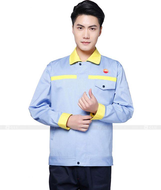 Dong phuc cong nhan GLU CN974 đồng phục công nhân kĩ thuật