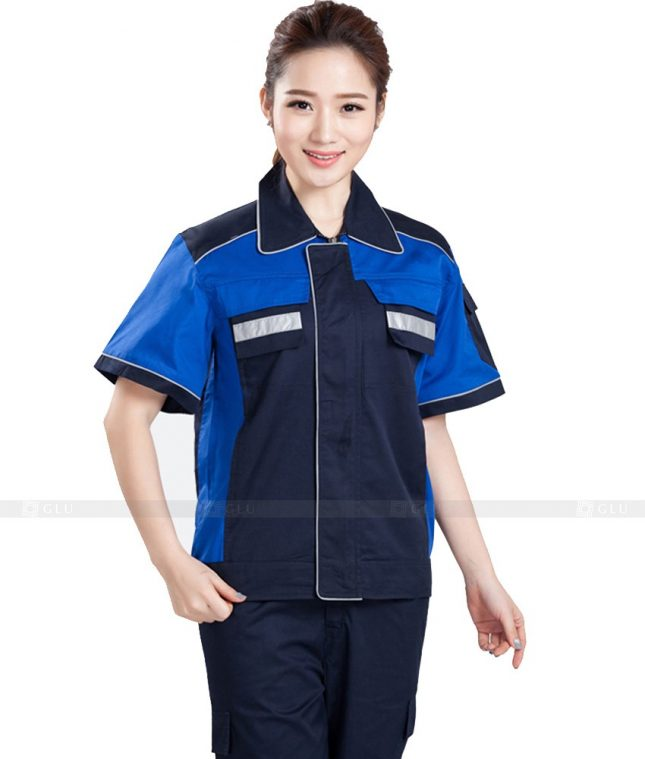 Dong phuc cong nhan GLU CN976 đồng phục công nhân kĩ thuật