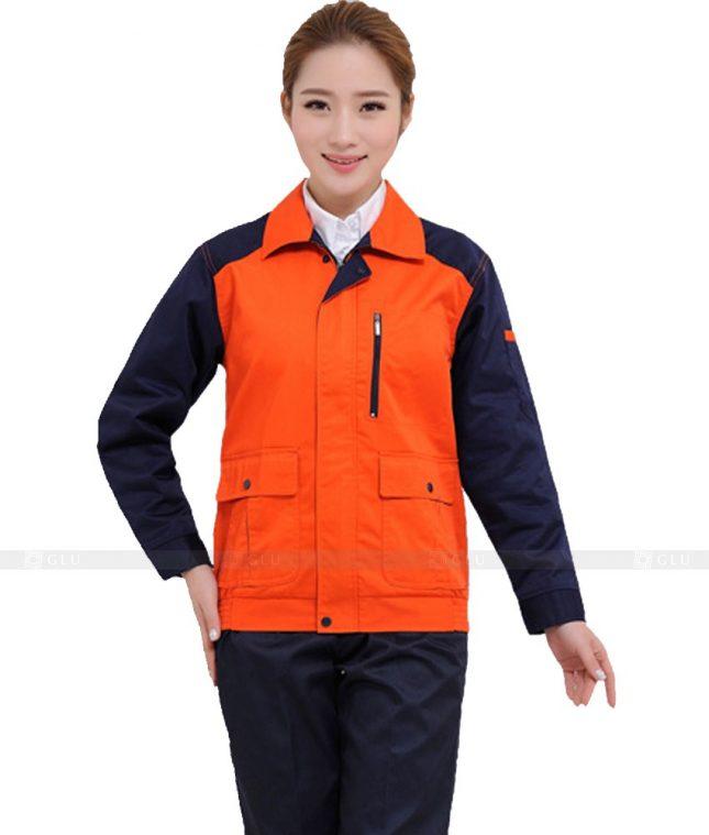 Dong phuc cong nhan GLU CN989 đồng phục công nhân kĩ thuật