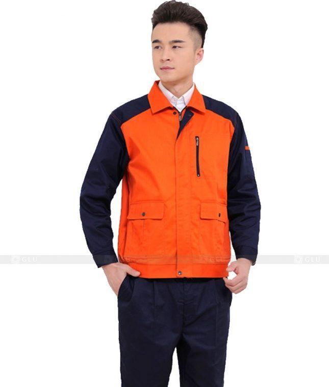 Dong phuc cong nhan GLU CN990 đồng phục công nhân kĩ thuật