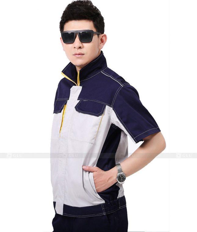 Dong phuc cong nhan GLU CN991 đồng phục công nhân kĩ thuật