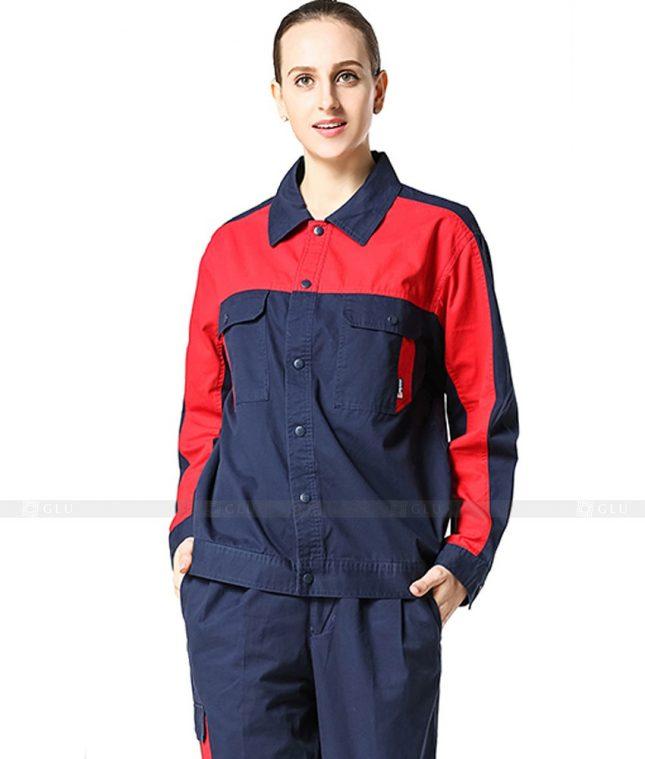 Dong phuc cong nhan GLU CN992 đồng phục công nhân kĩ thuật