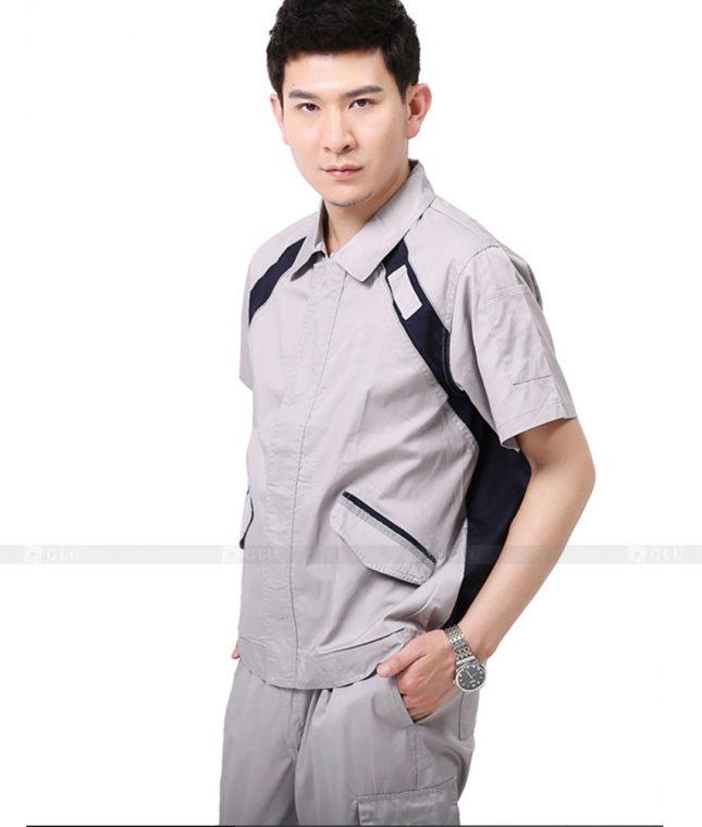Dong phuc cong nhan GLU CN996 đồng phục công nhân kĩ thuật