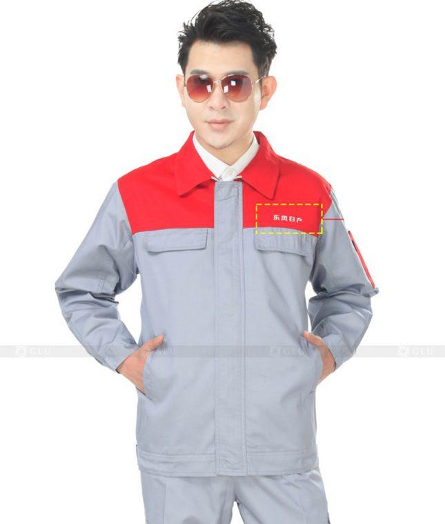 Dong phuc cong nhan GLU CN999 đồng phục công nhân kĩ thuật