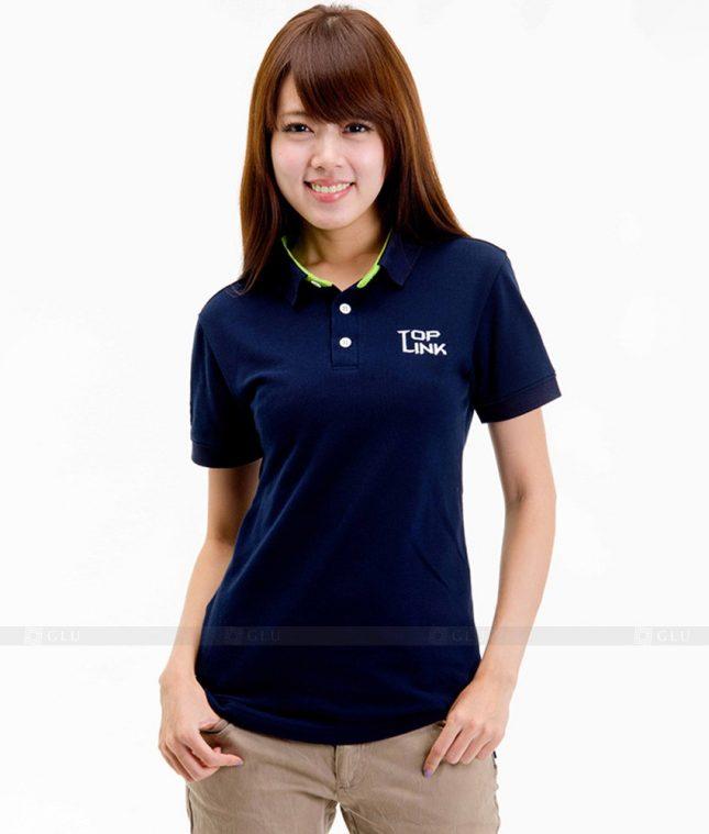 Dong phuc cong ty ao thun ATC128 áo đồng phục công ty đẹp