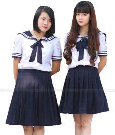 Dong phuc hoc sinh GLU 04 may đồng phục học sinh