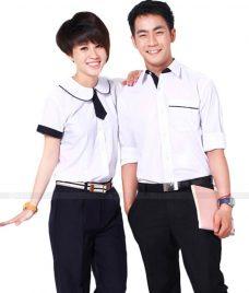Dong phuc hoc sinh GLU 05 may đồng phục học sinh