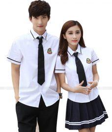 Dong phuc hoc sinh GLU 06 may đồng phục học sinh