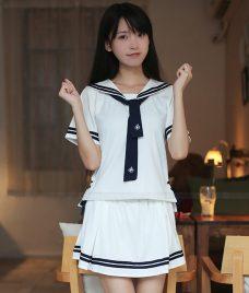 Dong phuc hoc sinh GLU 09 may đồng phục học sinh
