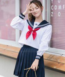 Dong phuc hoc sinh GLU 13 may đồng phục học sinh