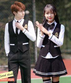 Dong phuc hoc sinh GLU 15 may đồng phục học sinh