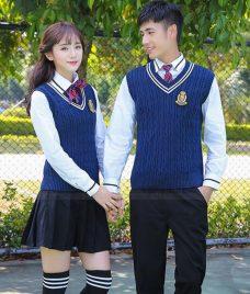 Dong phuc hoc sinh GLU 16 may đồng phục học sinh