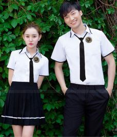 Dong phuc hoc sinh GLU 19 may đồng phục học sinh
