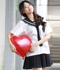 Dong phuc hoc sinh GLU 21 may đồng phục học sinh