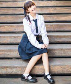 Dong phuc hoc sinh GLU 22 may đồng phục học sinh