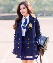 Dong phuc hoc sinh GLU 24 may đồng phục học sinh