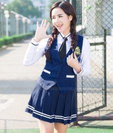 Dong phuc hoc sinh GLU 26 may đồng phục học sinh