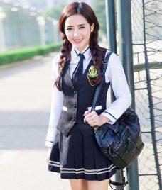 Dong phuc hoc sinh GLU 27 may đồng phục học sinh