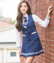 Dong phuc hoc sinh GLU 29 may đồng phục học sinh