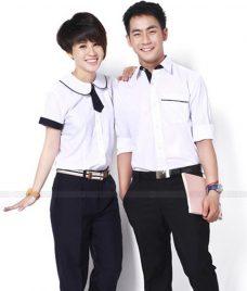 Dong phuc hoc sinh GLU 37 may đồng phục học sinh