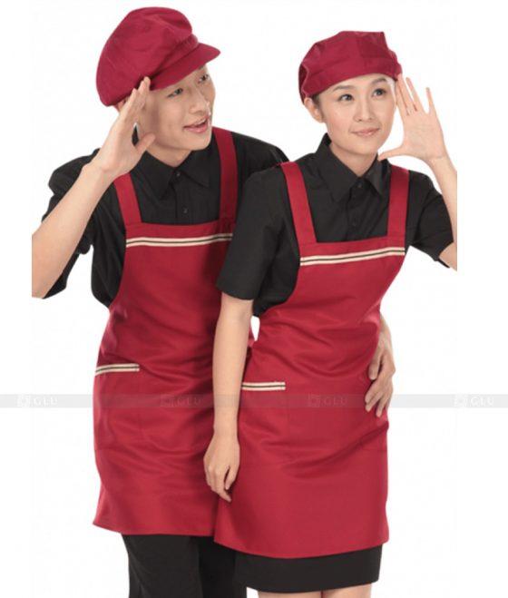 Dong phuc quan caphe GLU CF227 may áo thun đồng phục