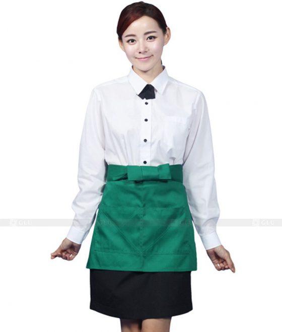 Dong phuc quan caphe GLU CF238 3 may áo thun đồng phục