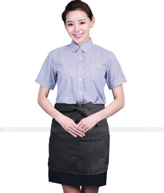 Dong phuc quan caphe GLU CF239 may áo thun đồng phục