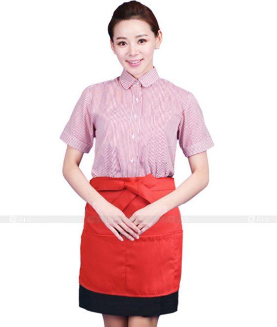 Dong phuc quan caphe GLU CF239 2 may áo thun đồng phục