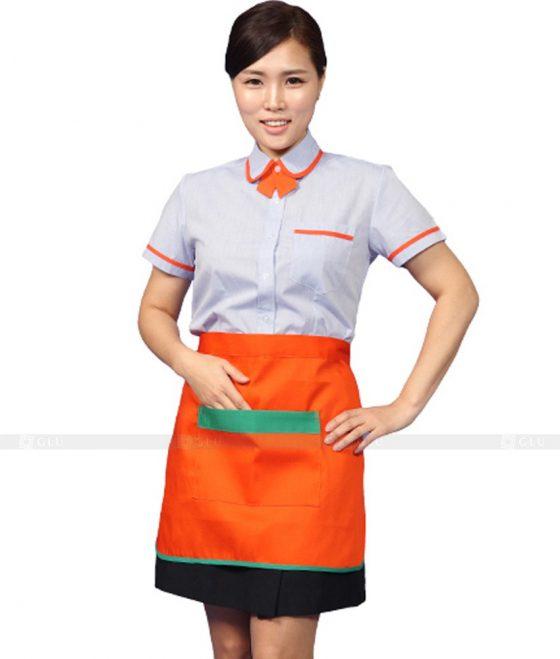 Dong phuc quan caphe GLU CF246 may áo thun đồng phục