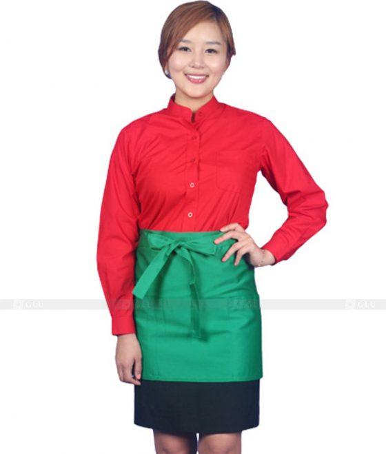 Dong phuc quan caphe GLU CF249 may áo thun đồng phục