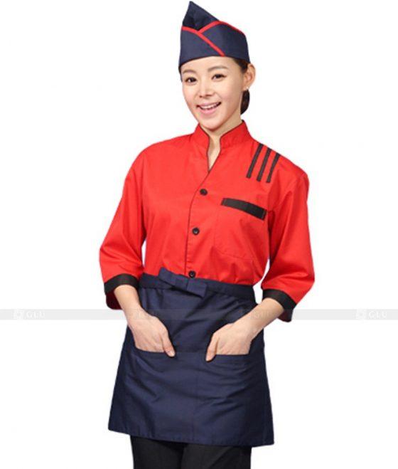 Dong phuc quan caphe GLU CF250 may áo thun đồng phục