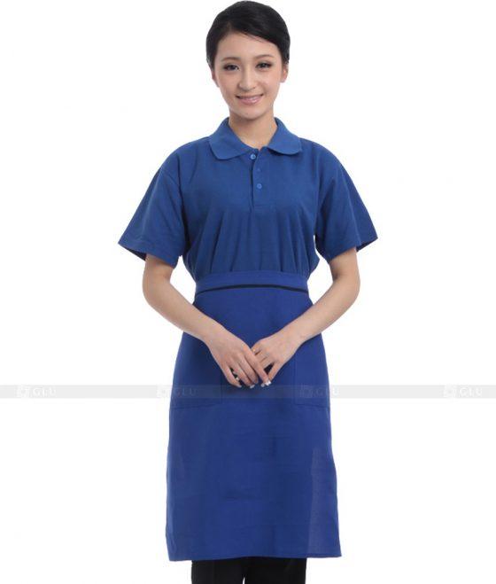 Dong phuc quan caphe GLU CF262 may áo thun đồng phục