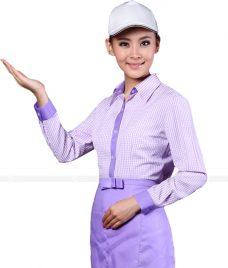 Dong phuc quan caphe GLU CF54 áo đồng phục cà phê