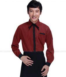 Dong phuc quan caphe GLU CF58 áo đồng phục cà phê