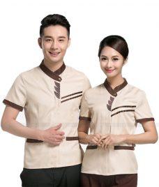 Dong phuc tap vu GLU TV28 đồng phục nhân viên buồng phòng